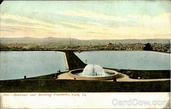 Reservoir And Aerating Fountains York Pennsylvania