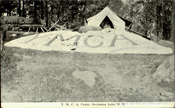 Y.M.C.A. Camp Oscawana Lake New York