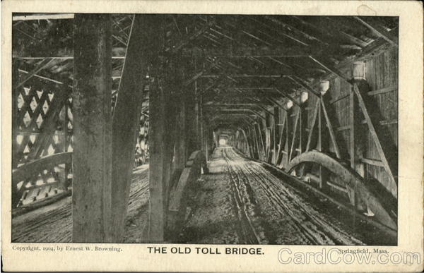The Old Toll Bridge Springfield Massachusetts