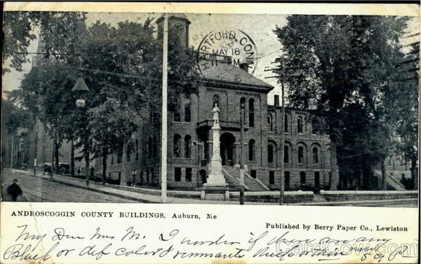 Androscoggin County Buildings Auburn Maine
