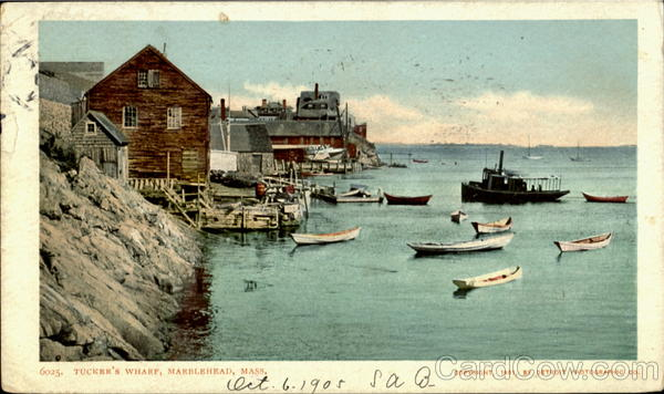 Tucker's Wharf Marblehead Massachusetts