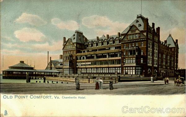 Chamberlin Hotel Old Point Comfort Virginia