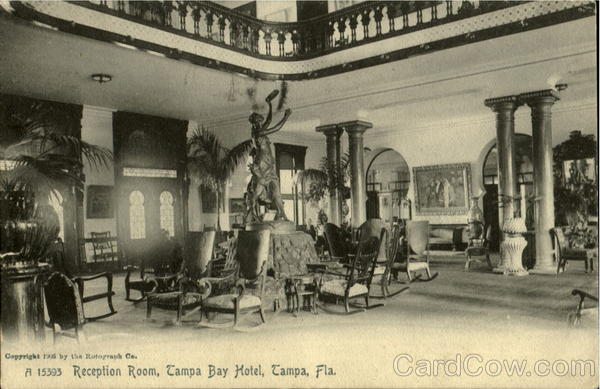 Tampa Bay Hotel Reception Room Florida