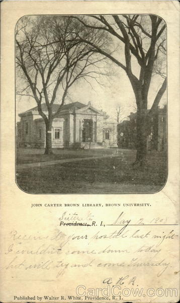 John Carter Brown Library, Brown University Providence Rhode Island