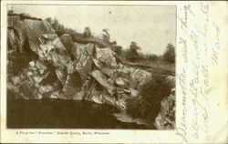 A Pit At The Klondike Granite Quarry
