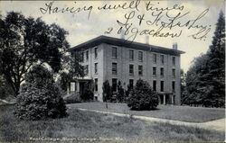 West College Ripon College Postcard