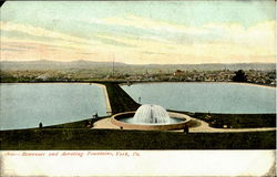Reservoir And Aerating Fountains