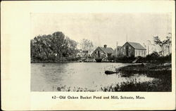 Old Oaken Bucket Pond And Mill