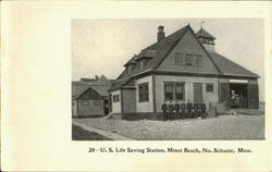 U. S. Life Saving Station, Minot Beach