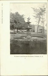 Pulaski Court House Fountain Postcard