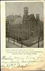 Church Of The New Jerusalem, Clark Street