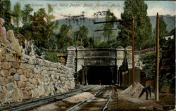 Hoosac Tunnel, West Portal Postcard