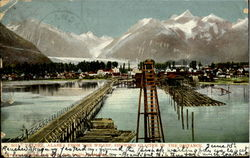 Valdez Alaska From The Wharf
