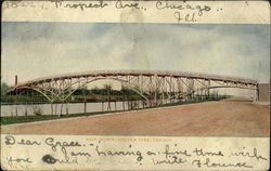 High Bridge, Lincoln Park Postcard