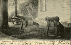 Three Historic Cannons