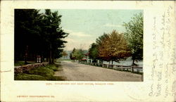Boulevard And Boat House, Whalom Park