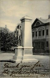 Statue Of Brigadier General Enoch Poor