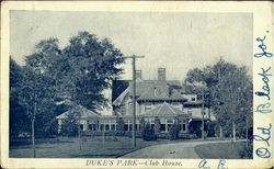 Duke's Park Club House