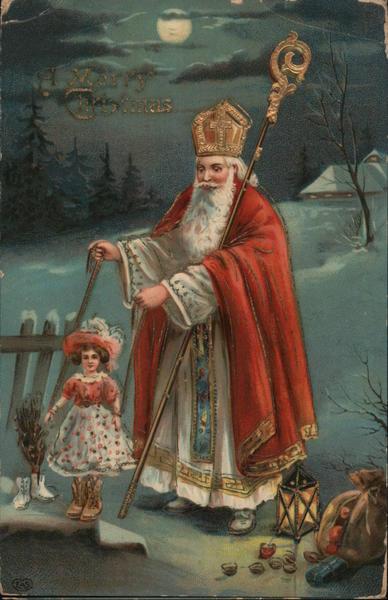 a Merry Christmas Santa Claus