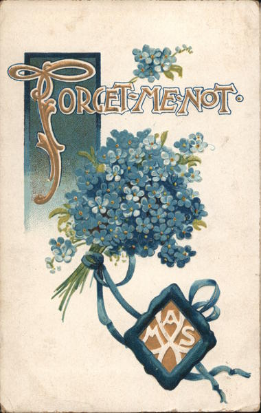 Forget-Me-Not Flower Bouquet Flowers
