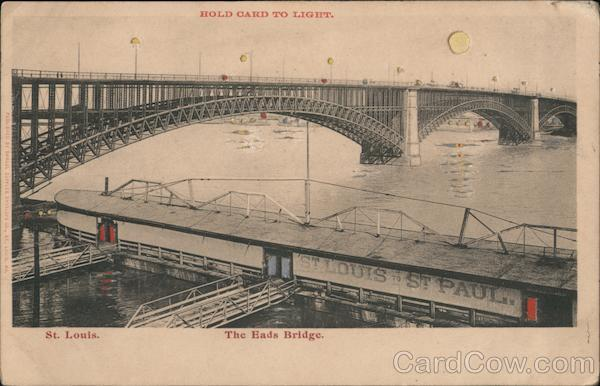 The Eads Bridge St. Louis Missouri