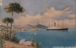 Cunarder at Naples