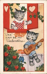 Uke Can Be My Valentine Cats