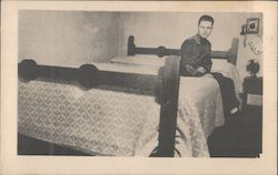 The tallest man in the world, 8 ft., 8 in., found a bed at the PARK HOTEL