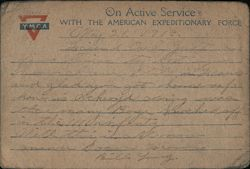 On Active Service with the American Expeditionary Force