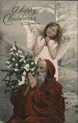 Santa, A Happy Christmas - An Angel in Thought