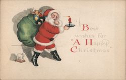Best wishes for A Happy Christmas Postcard