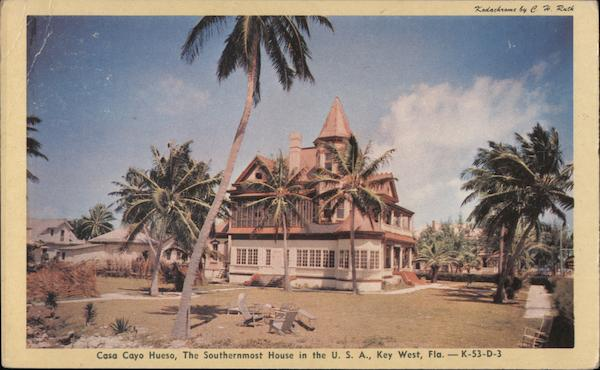 Casa Cayo Hueso, The Southernmost House in the USA Key West Florida