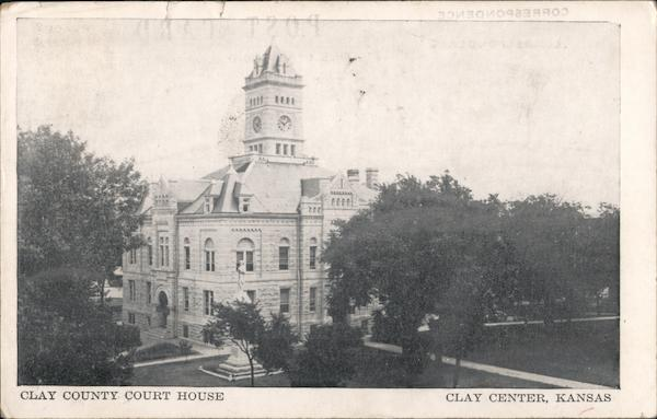 Clay County Court House Clay Center Kansas