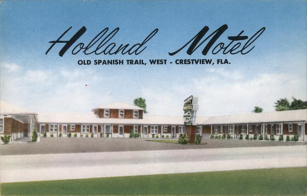 Holland Motel Crestview Florida