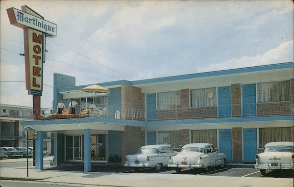 Martinique Motel Atlantic City New Jersey
