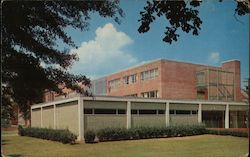 R. C. Cook University Union Building at The University of Southern Mississippi Postcard