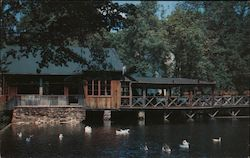 Cobb's Mill by the Waterfall Diners in the Original Mill Building Enjoy Delightful Vistas Overlooking the Lake