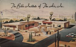 The Bible Institute of The Air, Inc. Postcard