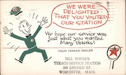 We Were Delighted That You Visited Our Station - Your Texaco Dealer