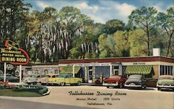 Tallahassee Dining Room at the Tallahassee Motor Hotel Postcard