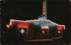 Westerner Cafe and Lounge and Motel - Best Food in the West Postcard