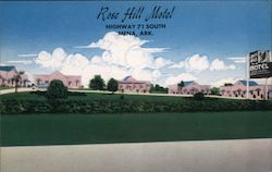 Rose Hill Motel - A Home Away from Home Postcard