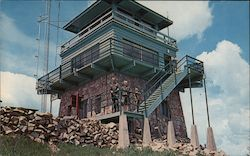 Terry Peak Fire Lookout Postcard