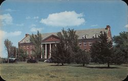 Administration Building at the University of Wichita Postcard