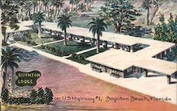 Boynton Lodge Postcard