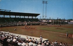 Russell Field Spring Training Camp of Major League Baseball Postcard