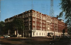 Oak Park Arms Hotel Postcard