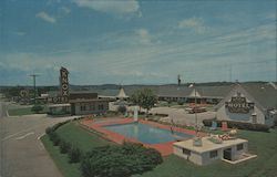 Knox Motel Postcard