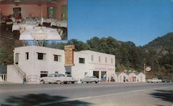 Wilderness Road Motel & Dining Room Postcard