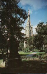 Sacred Heart Church, University of Notre Dame Postcard